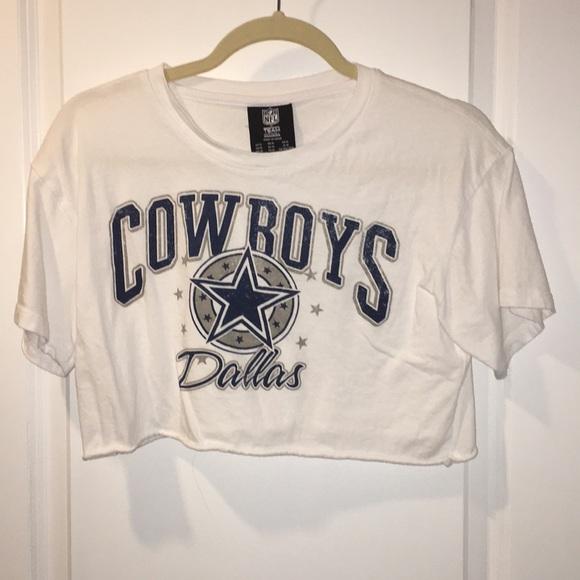 NFL Tops - Dallas cowboys crop top